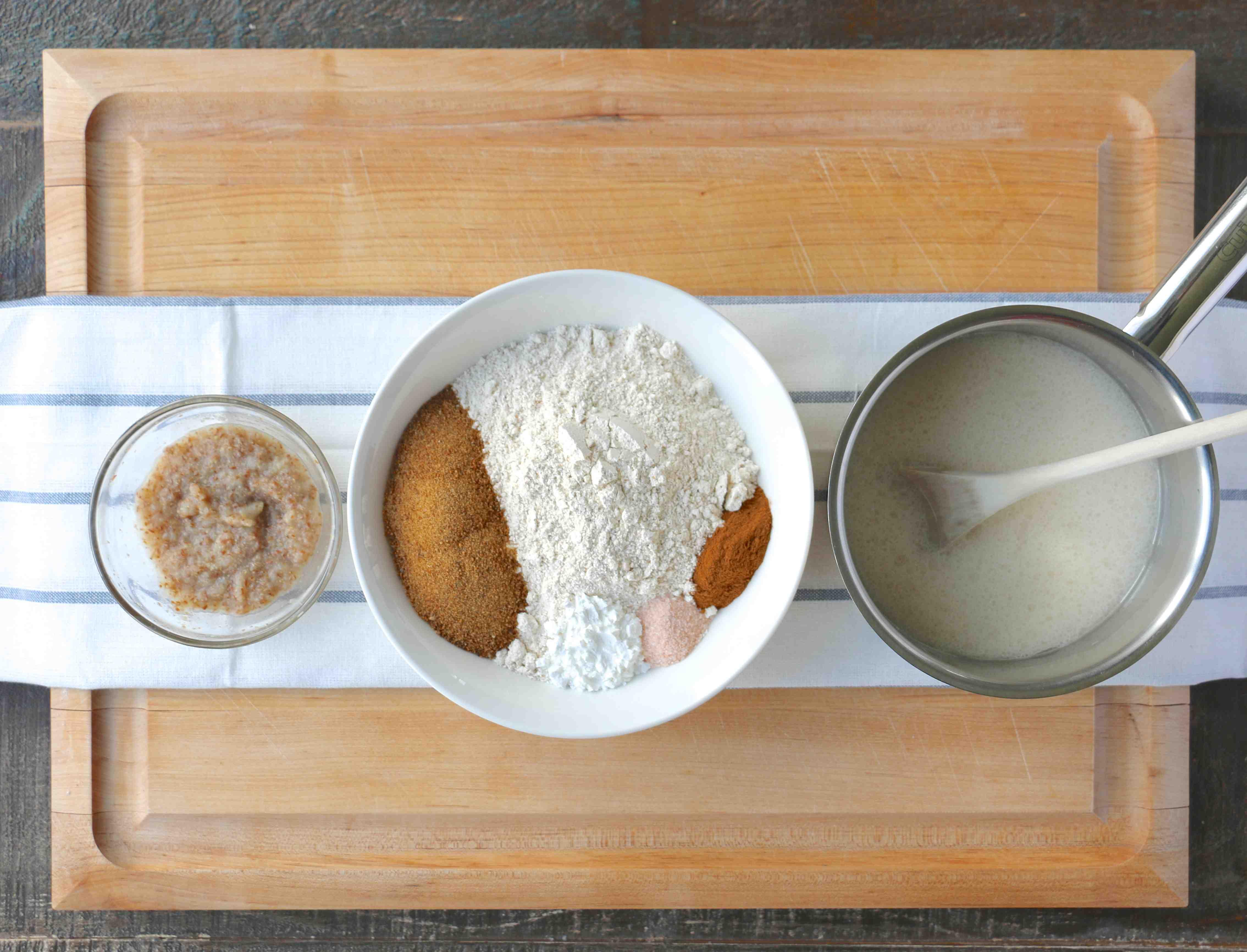 gaufre à la farine d'épeautre