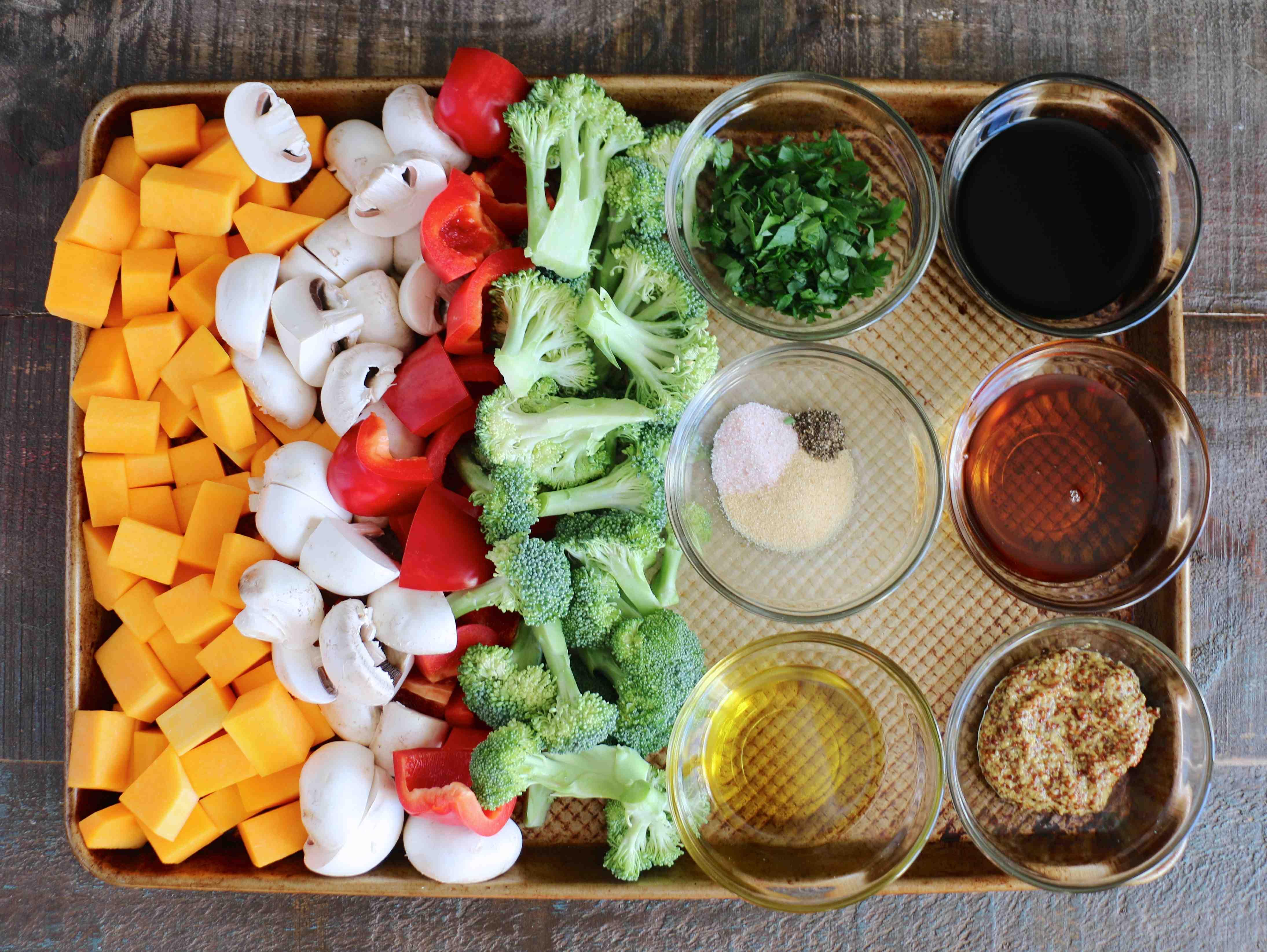 Poulet et Légumes Rôtis au Balsamique