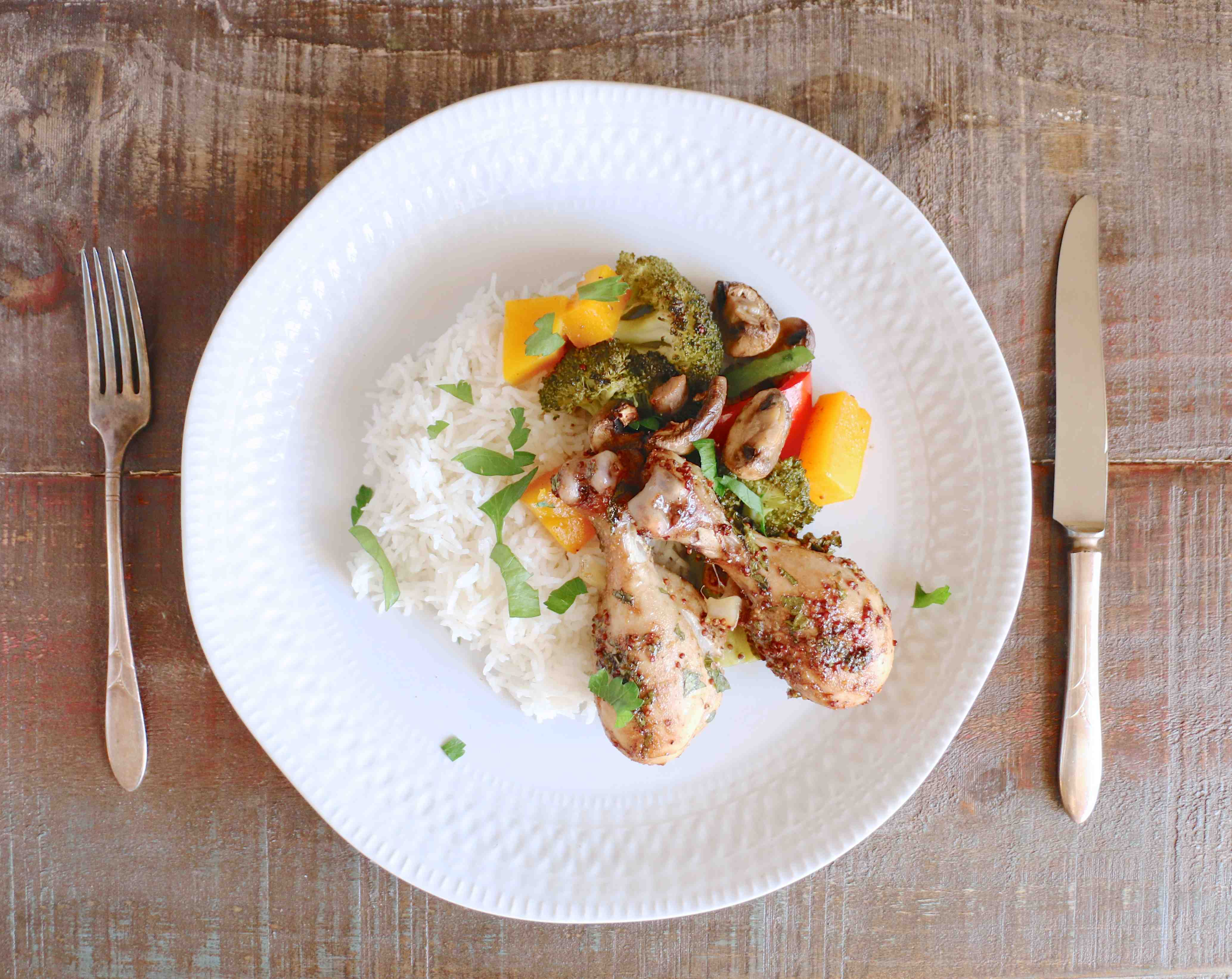 Roasted Balsamic Chicken and Vegetables
