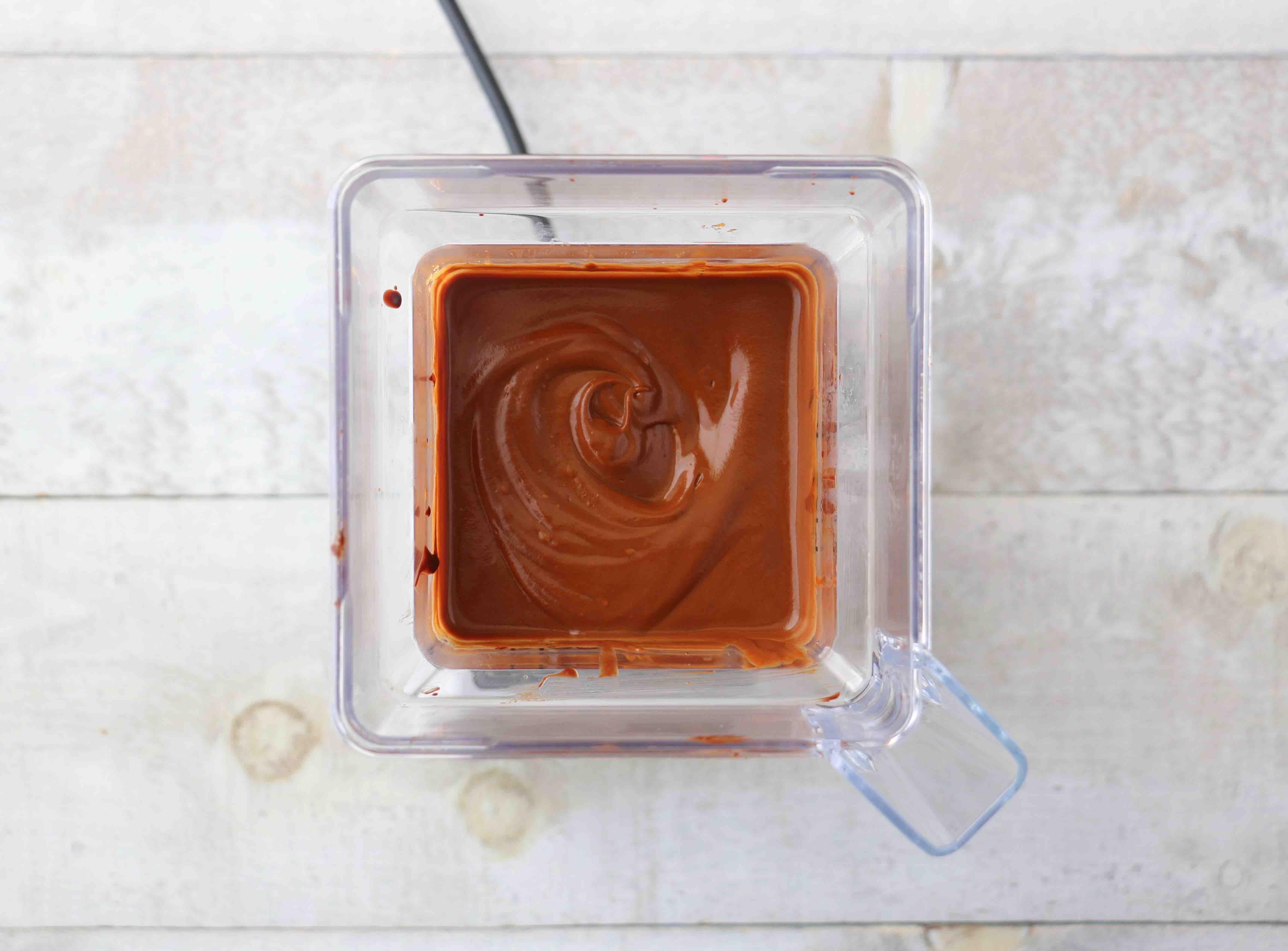 Mousse au chocolat à la patate douce