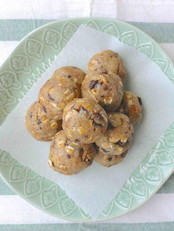 bouchées santé à la pâte à biscuits