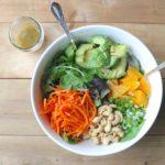 orange & ginger salad