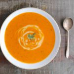 Soupe aux Tomates Rôties et à l'Aneth